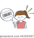 一個年輕成年女性 女生 女孩 44269387