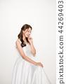 웨딩드레스,여성,여자,신부,인물,웨딩 44269403