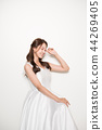 웨딩드레스,여성,여자,신부,인물,웨딩 44269405