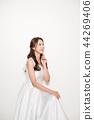 웨딩드레스,여성,여자,신부,인물,웨딩 44269406