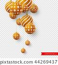ball, 3d, decorative 44269437
