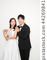 웨딩촬영,신부,신랑,인물,결혼 44269841
