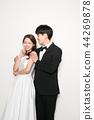 행복한커플,연인,웨딩촬영,인물 44269878