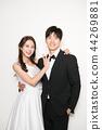 행복한커플,연인,웨딩촬영,인물 44269881