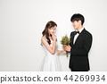 인물,연인,커플,웨딩촬영 44269934