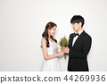 인물,연인,커플,웨딩촬영 44269936
