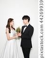 인물,연인,커플,웨딩촬영 44269939