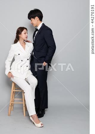 패션,화보,커플,웨딩촬영,연인 44270191