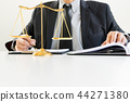 Judge gavel with Justice lawyers, Businessman  44271380