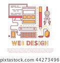 web, design, development 44273496