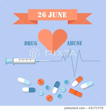 26 June Day Against Drug Abuse Promotional Banner 44273759