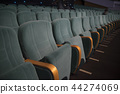 empty auditorium with seats 44274069