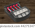 Smart AA AAA Battery Charger with batteries 44275347