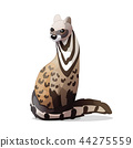 vector cartoon animal clip art 44275559