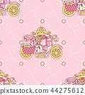 vector girlish seamless pattern 44275612