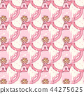 vector girlish seamless pattern 44275625
