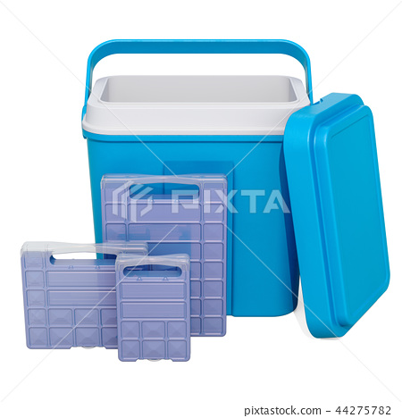 Portable Cool Box with Freezer Blocks 44275782