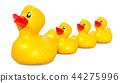 Rubber duck family, 3D rendering 44275996