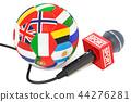 soccer, news, microphone 44276281