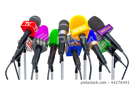 Press conference or interview concept 44276491