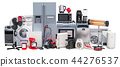 Set of kitchen and household appliances 44276537