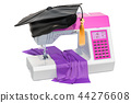 Sewing machine with graduation cap 44276608