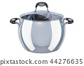 Stainless steel stock pot with glass cover 44276635