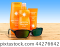 Sunscreen products with sunglasses 44276642