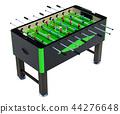 Table football. 3D rendering 44276648