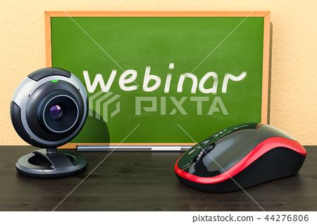 Webinar education concept. 3D rendering 44276806