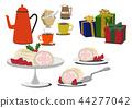 聖誕蛋糕 瑞士卷 果凍卷 44277042