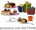 聖誕蛋糕 瑞士卷 果凍卷 44277046
