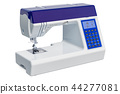 Modern electronic sewing machine close-up 44277081