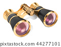 Opera glasses, theater binoculars. 3D rendering 44277101
