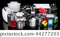 Set of small kitchen home appliances 44277203