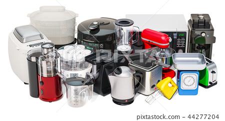 Set of small kitchen home appliances 44277204