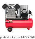 Tank air compressor, 3D rendering 44277268