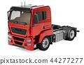 Truck, 3D rendering 44277277