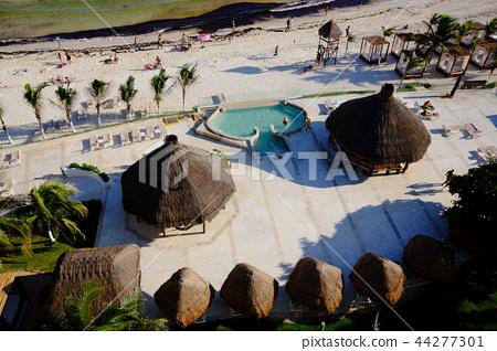 멕시코 칸쿤 해변 44277301