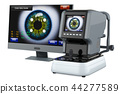 Auto Refractometer with computer monitor 44277589