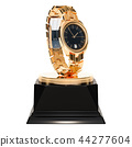 Best wrist watch, golden award concept 44277604