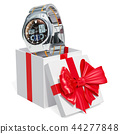 Gift concept, men's analog digital wrist watch 44277848