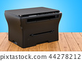 Multifunction printer MFP on the wooden table 44278212