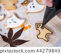 万圣节 糖霜 做饼干 做杯子蛋糕 ハロウィンのデザート halloween dessert 44279840