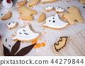 万圣节 糖霜 做饼干 做杯子蛋糕 ハロウィンのデザート halloween dessert 44279844