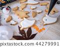 万圣节 糖霜 做饼干 做杯子蛋糕 ハロウィンのデザート halloween dessert 44279991