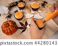万圣节 糖霜 做饼干 做杯子蛋糕 ハロウィンのデザート halloween dessert 44280143