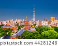Asakusa, Tokyo, Japan Skyline 44281249