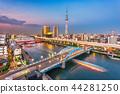 Asakusa, Tokyo, Japan Skyline 44281250