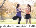 Yoga in park 44281506